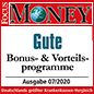 Focus Money: Gute Bonus- & Vorteilsprogramme