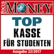 Focus Money: Top Kasse für Studenten